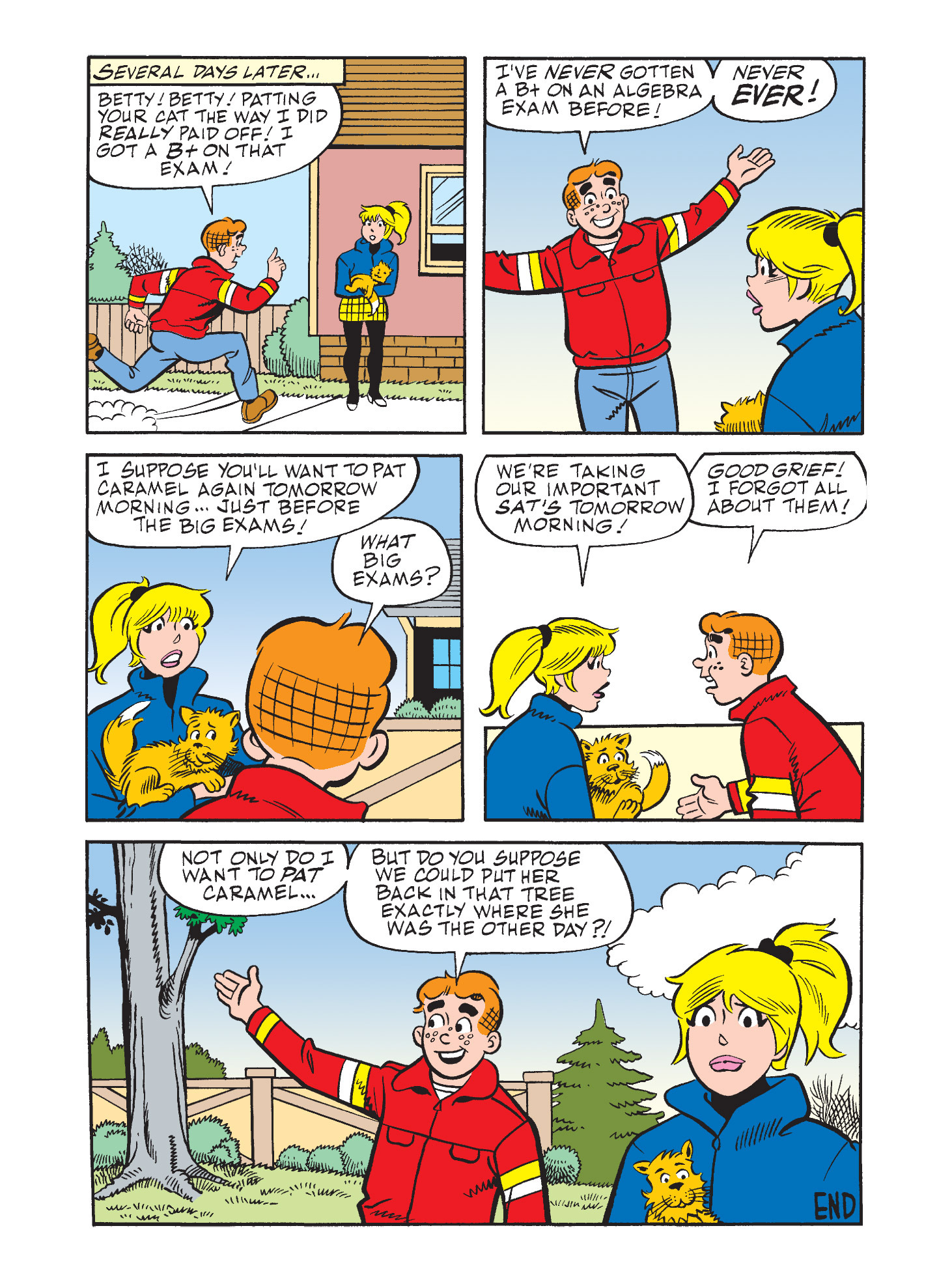 Read online Archie's Funhouse Double Digest comic -  Issue #9 - 17