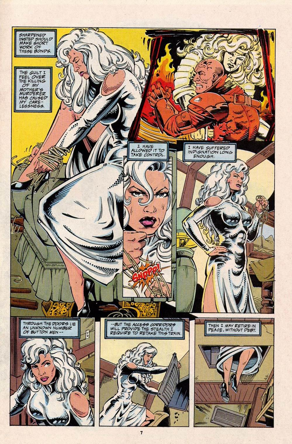 Read online Silver Sable and the Wild Pack comic -  Issue #32 - 7
