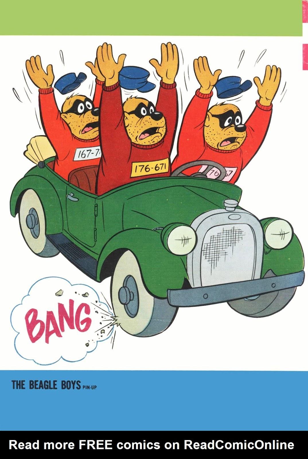 Walt Disney THE BEAGLE BOYS issue 6 - Page 36