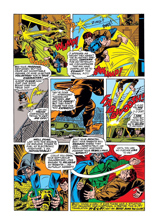 Read online Amazing Adventures (1970) comic -  Issue #17 - 23