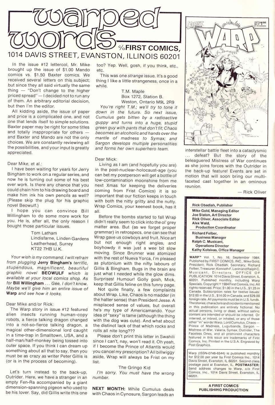Warp 16 Page 2