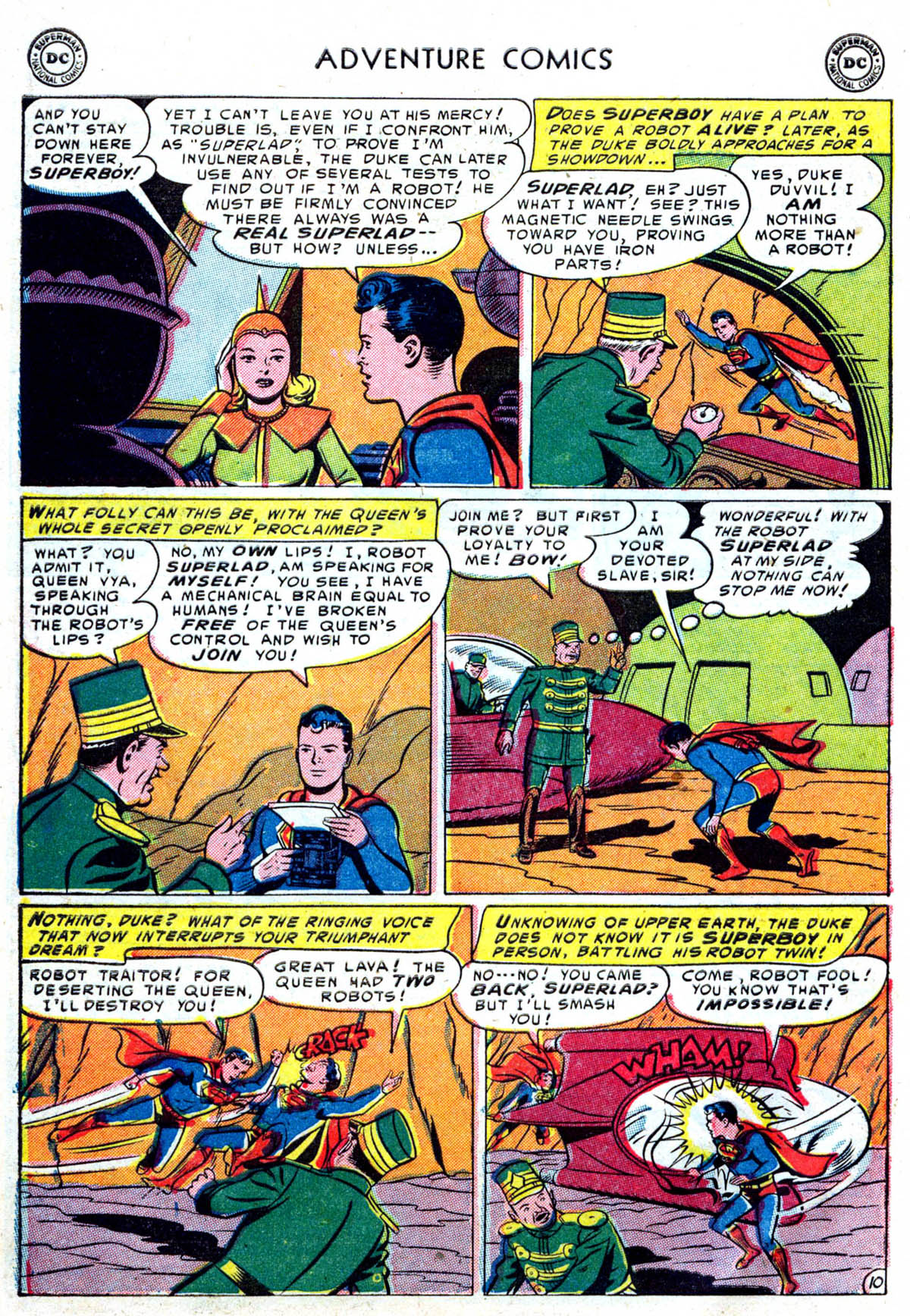 Read online Adventure Comics (1938) comic -  Issue #199 - 11