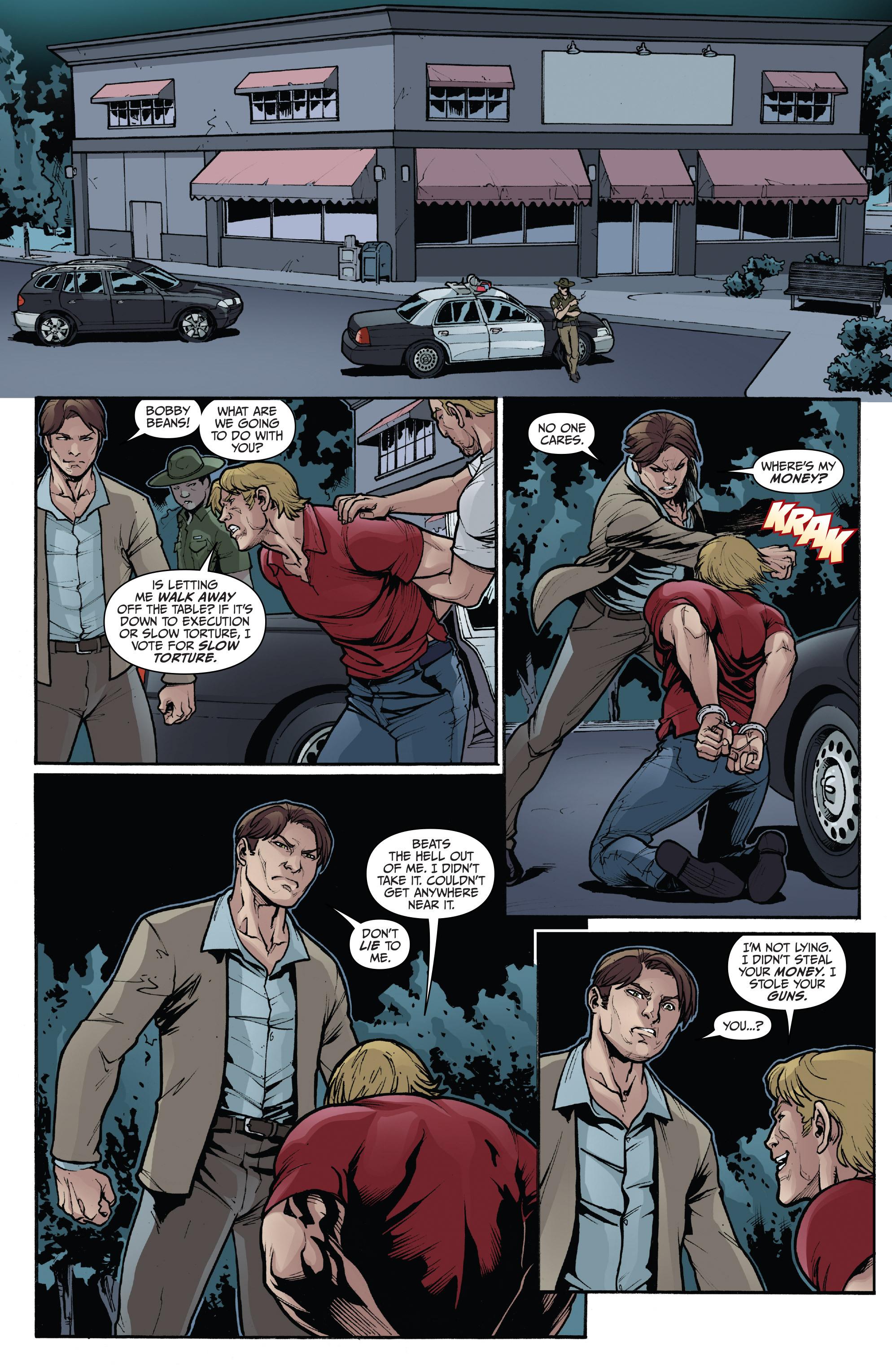 Read online 3 Guns comic -  Issue #4 - 8