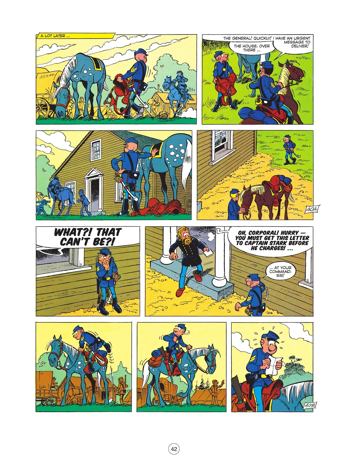 Read online The Bluecoats comic -  Issue #12 - 44