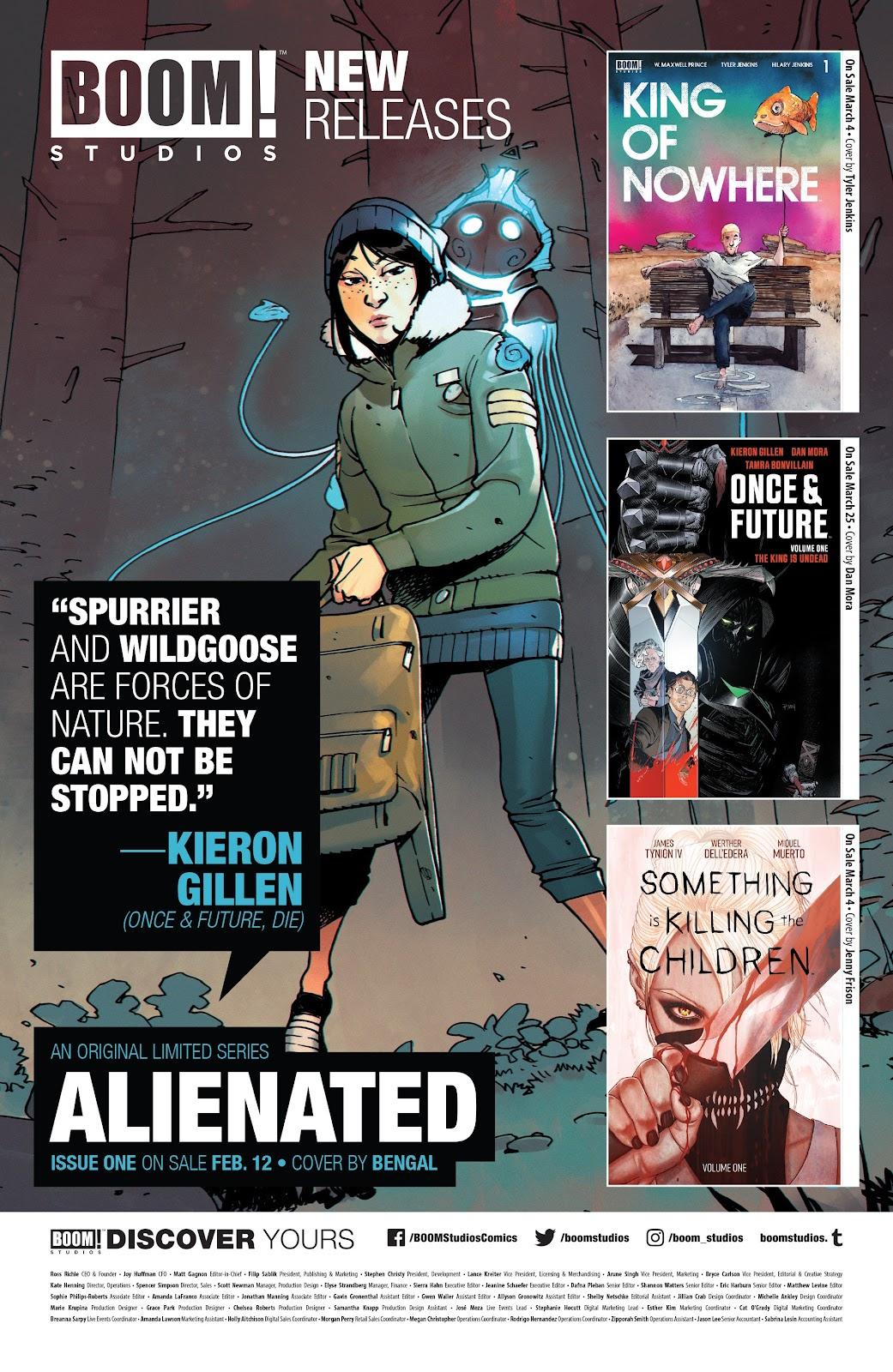 Read online Alienated comic -  Issue #3 - 25