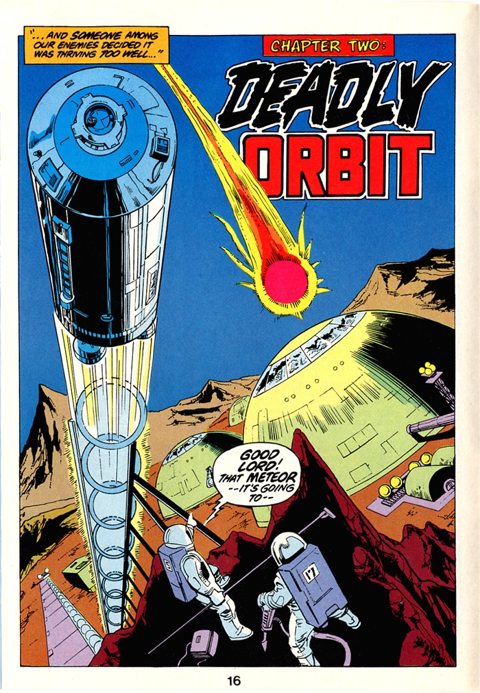 Read online Atari Force (1982) comic -  Issue #1 - 18