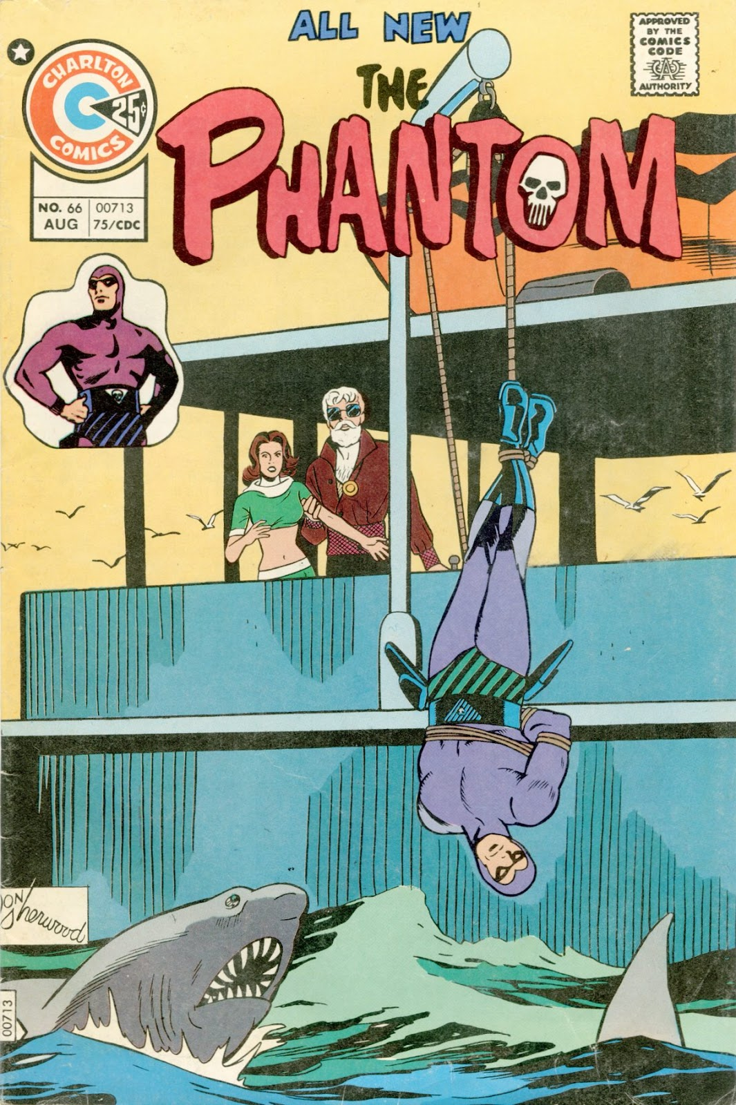 The Phantom (1969) issue 66 - Page 1