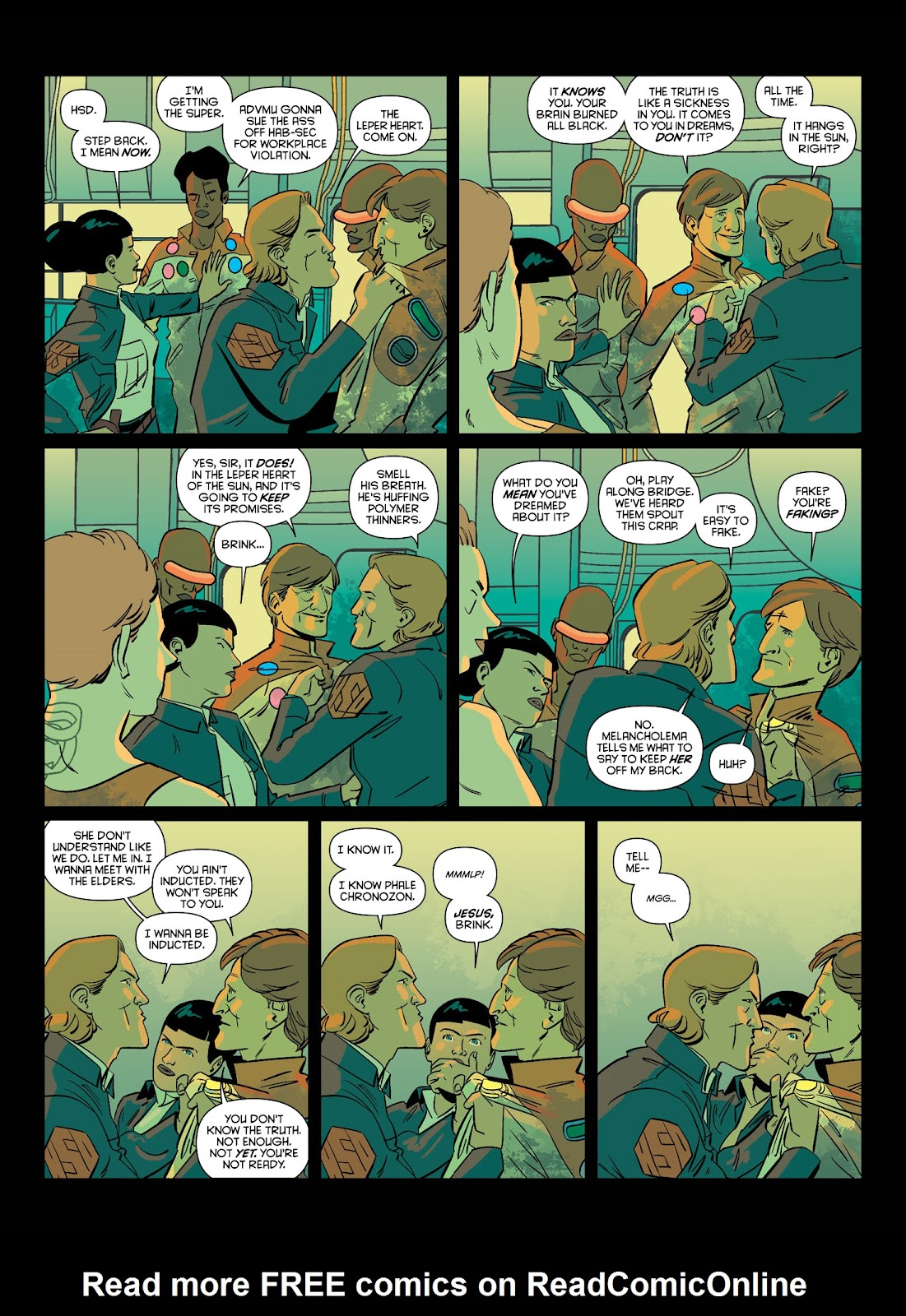 Read online Brink comic -  Issue # TPB 1 - 34