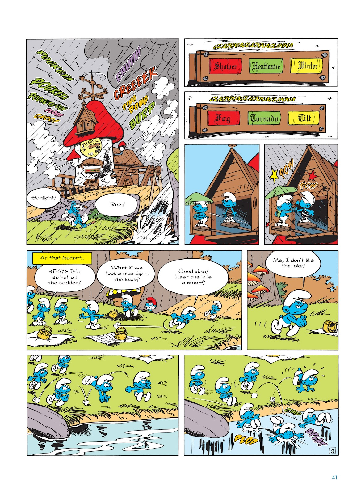 Read online The Smurfs comic -  Issue #14 - 42