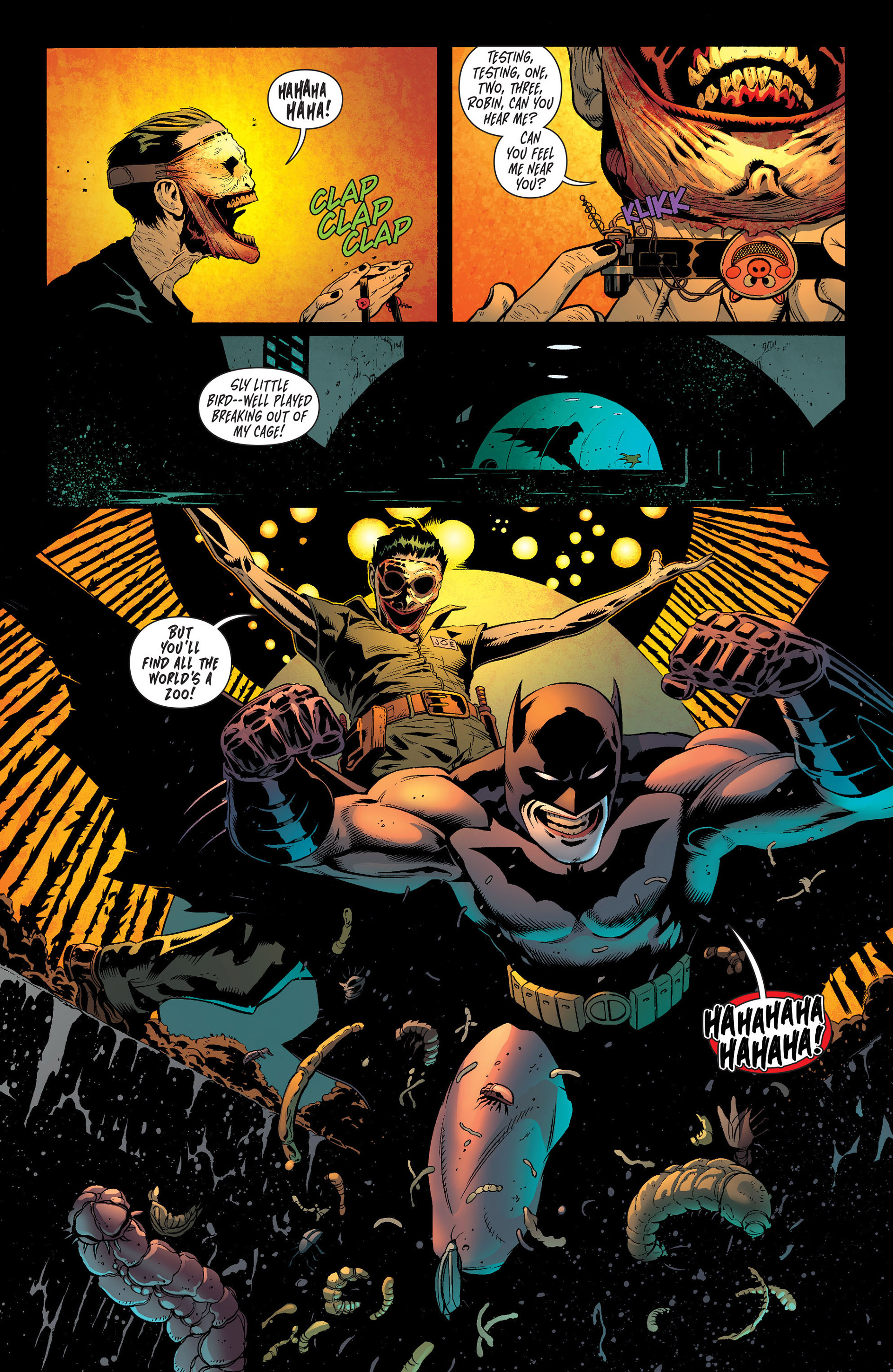 Read online Batman and Robin (2011) comic -  Issue #16 - 9