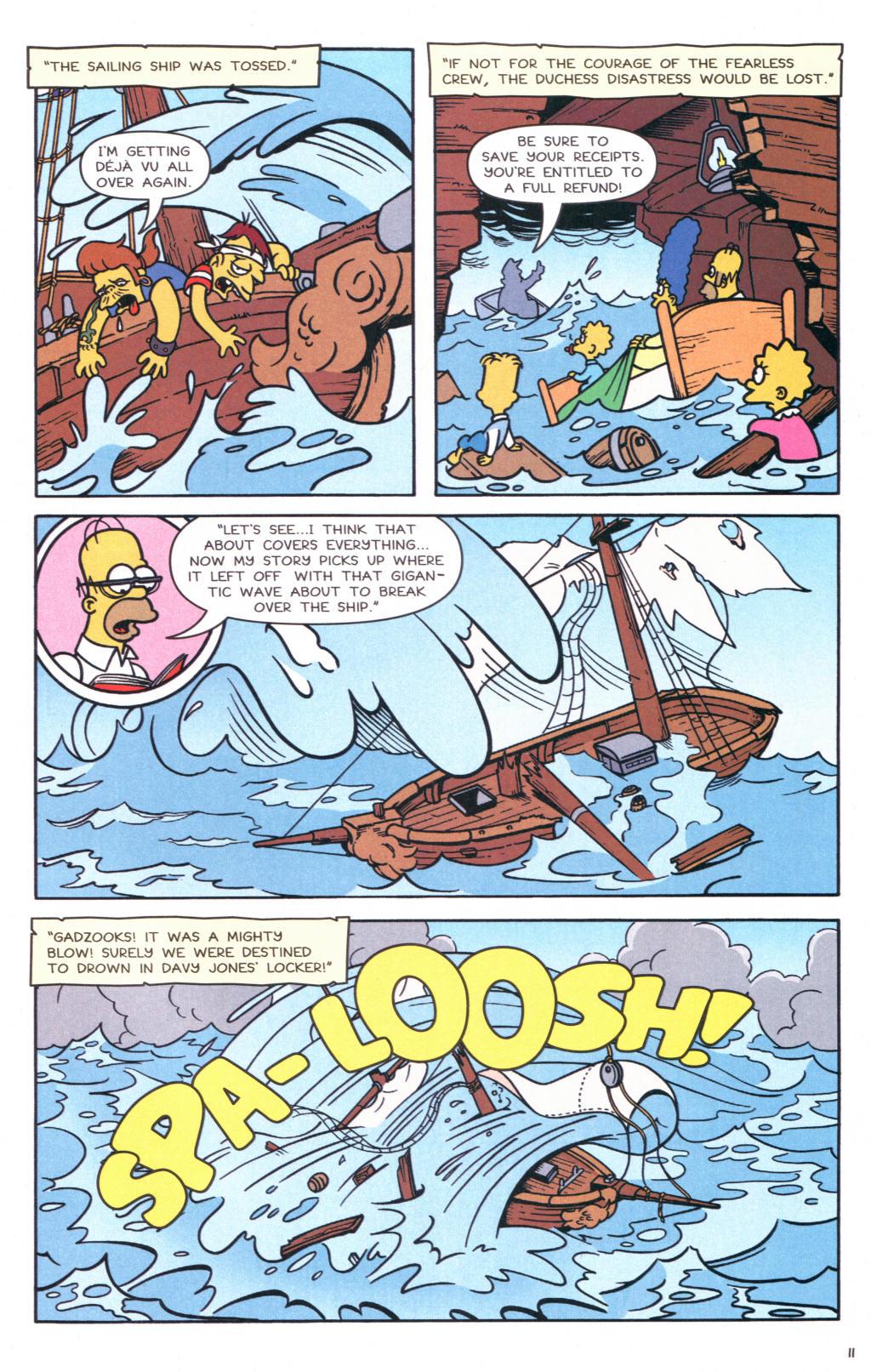 Read online Simpsons Comics comic -  Issue #127 - 10