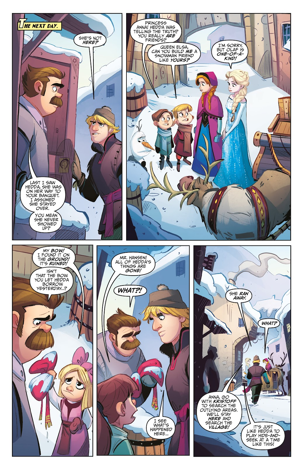 Read online Disney Frozen: The Hero Within comic -  Issue #2 - 9