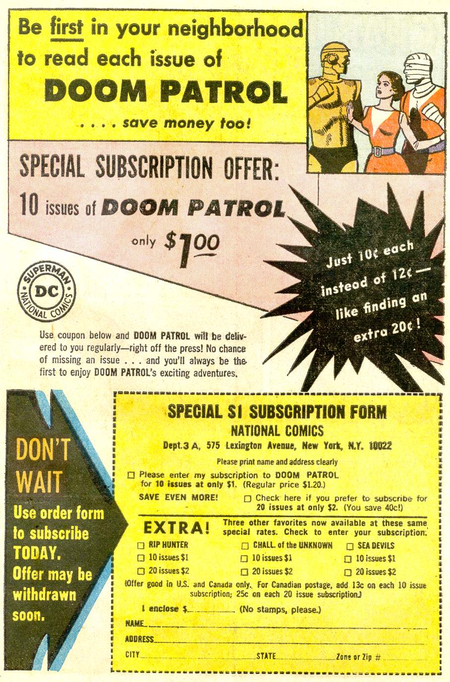 Doom Patrol (1964) issue 92 - Page 31