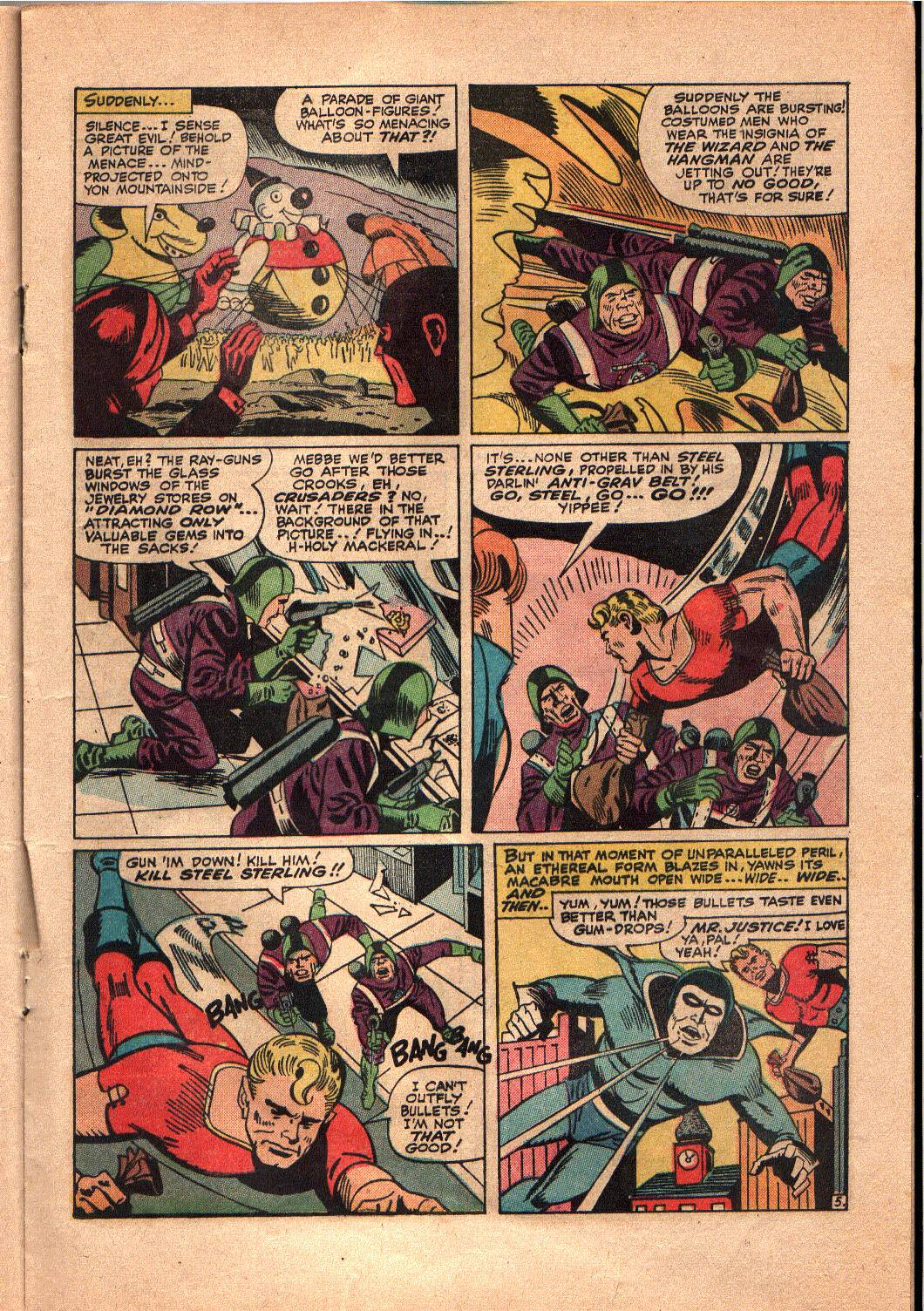 The Mighty Crusaders (1965) Issue #4 #4 - English 14