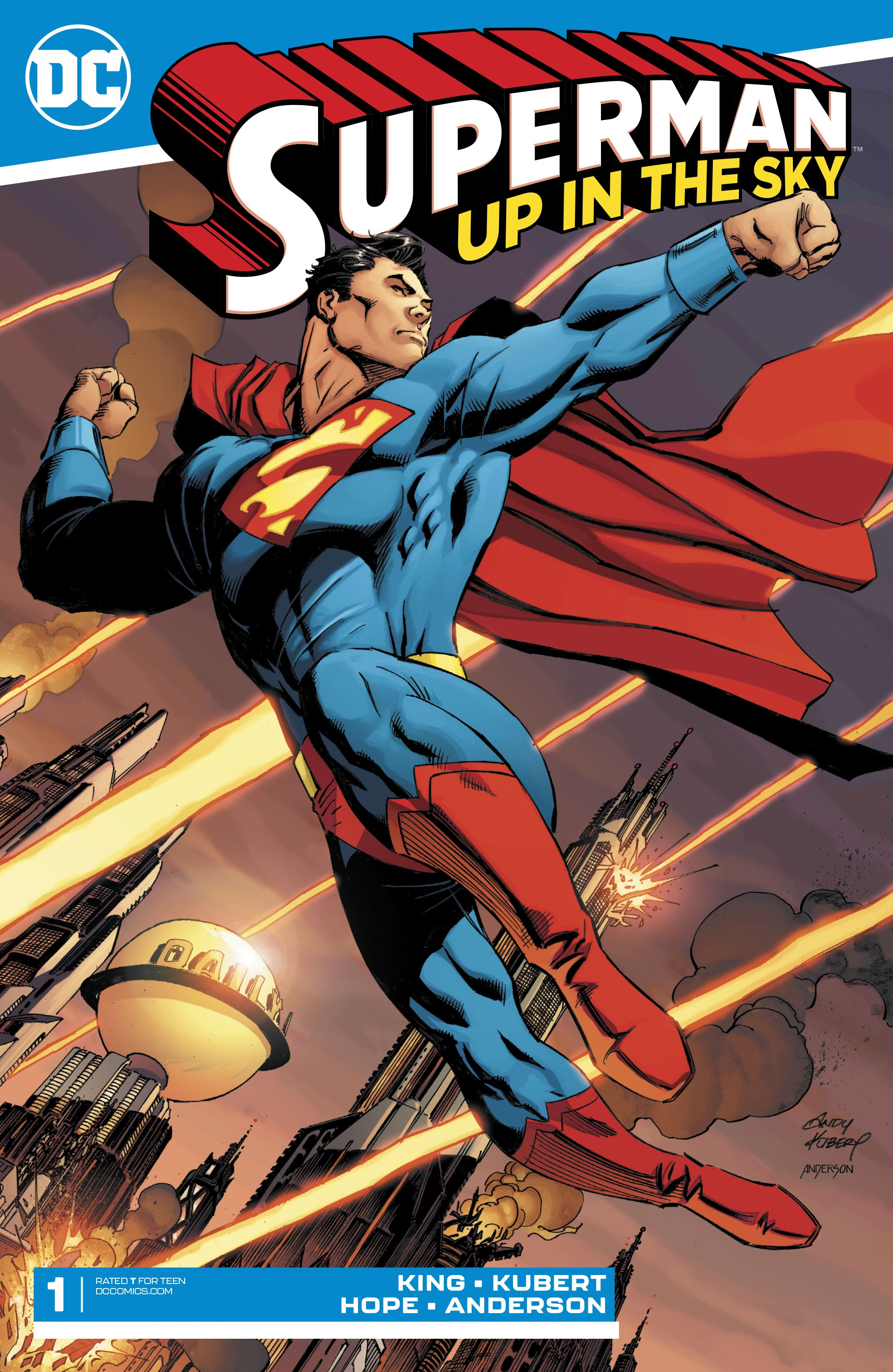 Superman: Up in the Sky issue 1 - Page 1
