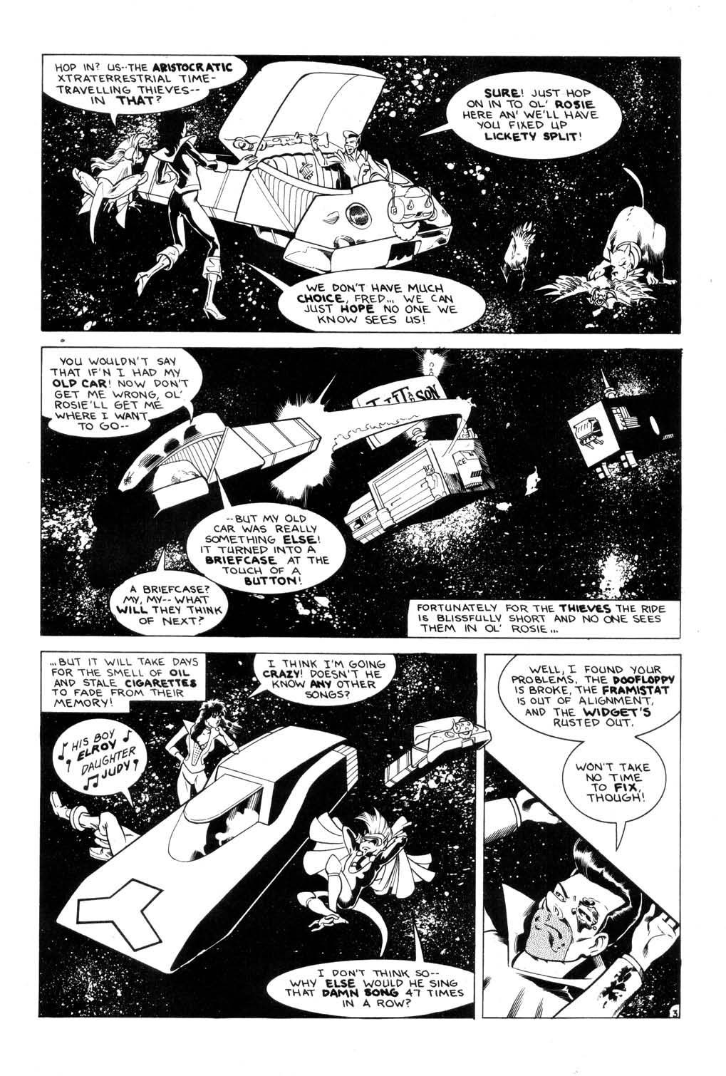 Aristocratic Xtraterrestrial Time-Traveling Thieves issue 7 - Page 5
