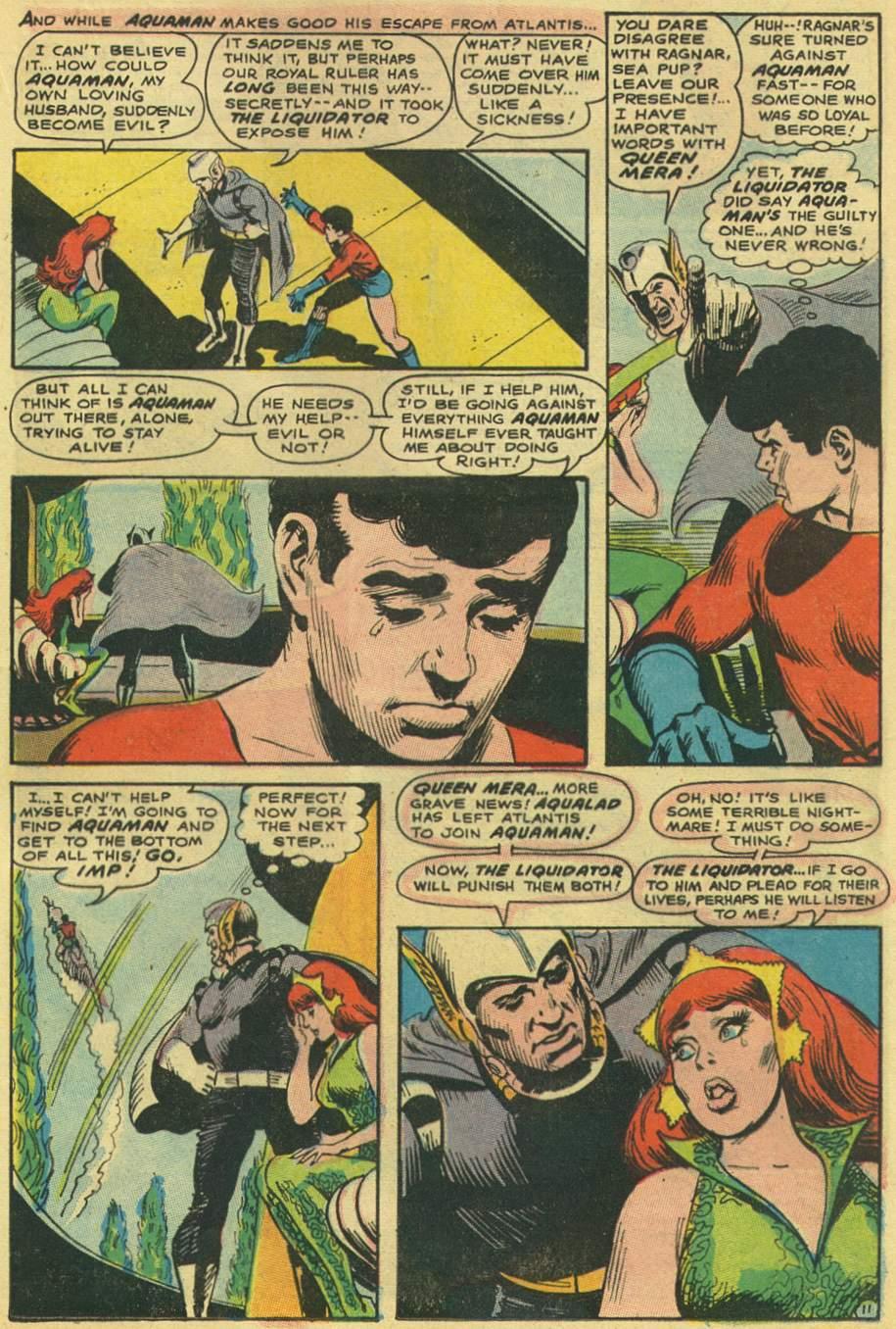 Read online Aquaman (1962) comic -  Issue #38 - 17