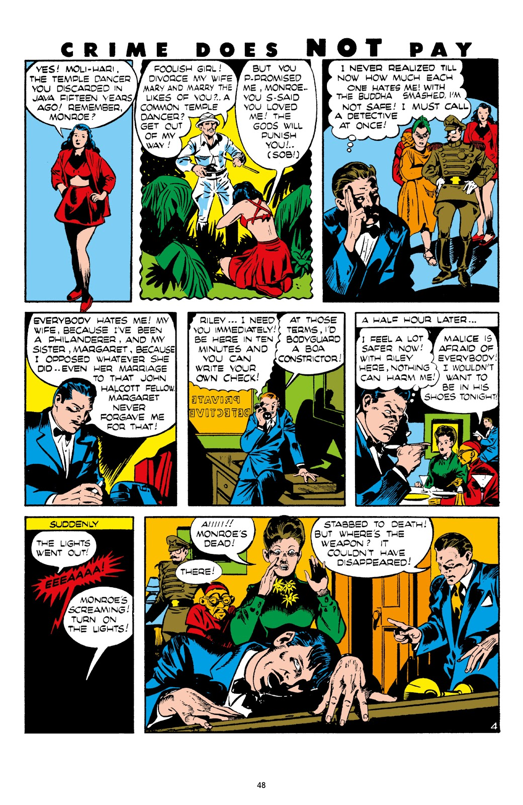 Read online Crime Does Not Pay Archives comic -  Issue # TPB 8 (Part 1) - 49