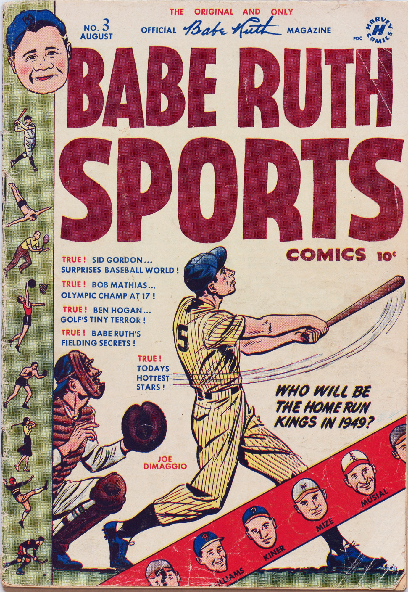 Babe Ruth Sports Comics 3 Page 1