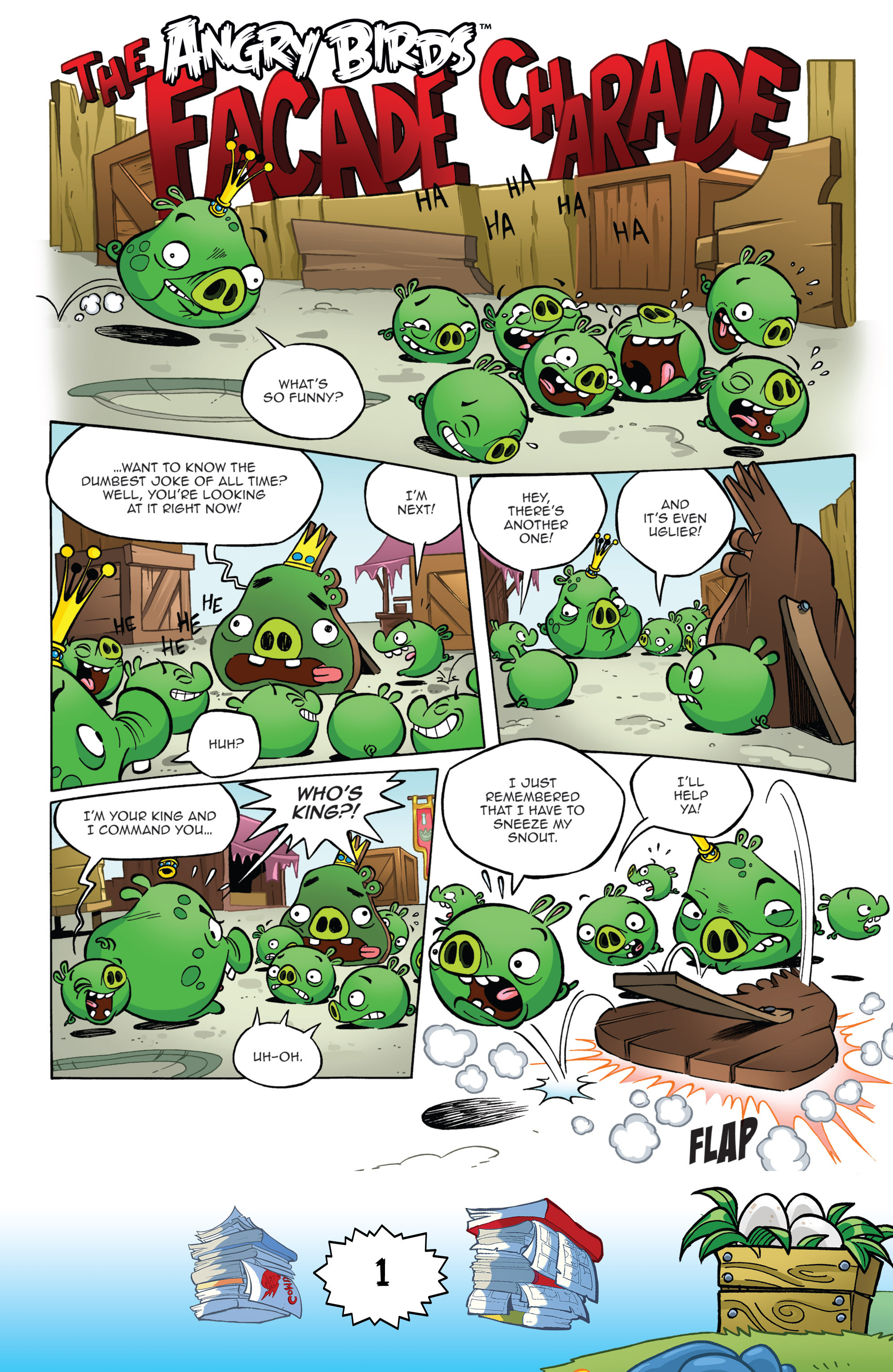 Read online Angry Birds Comics (2016) comic -  Issue #6 - 3