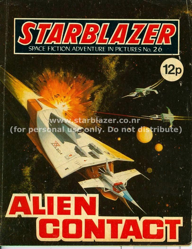 Starblazer issue 26 - Page 1