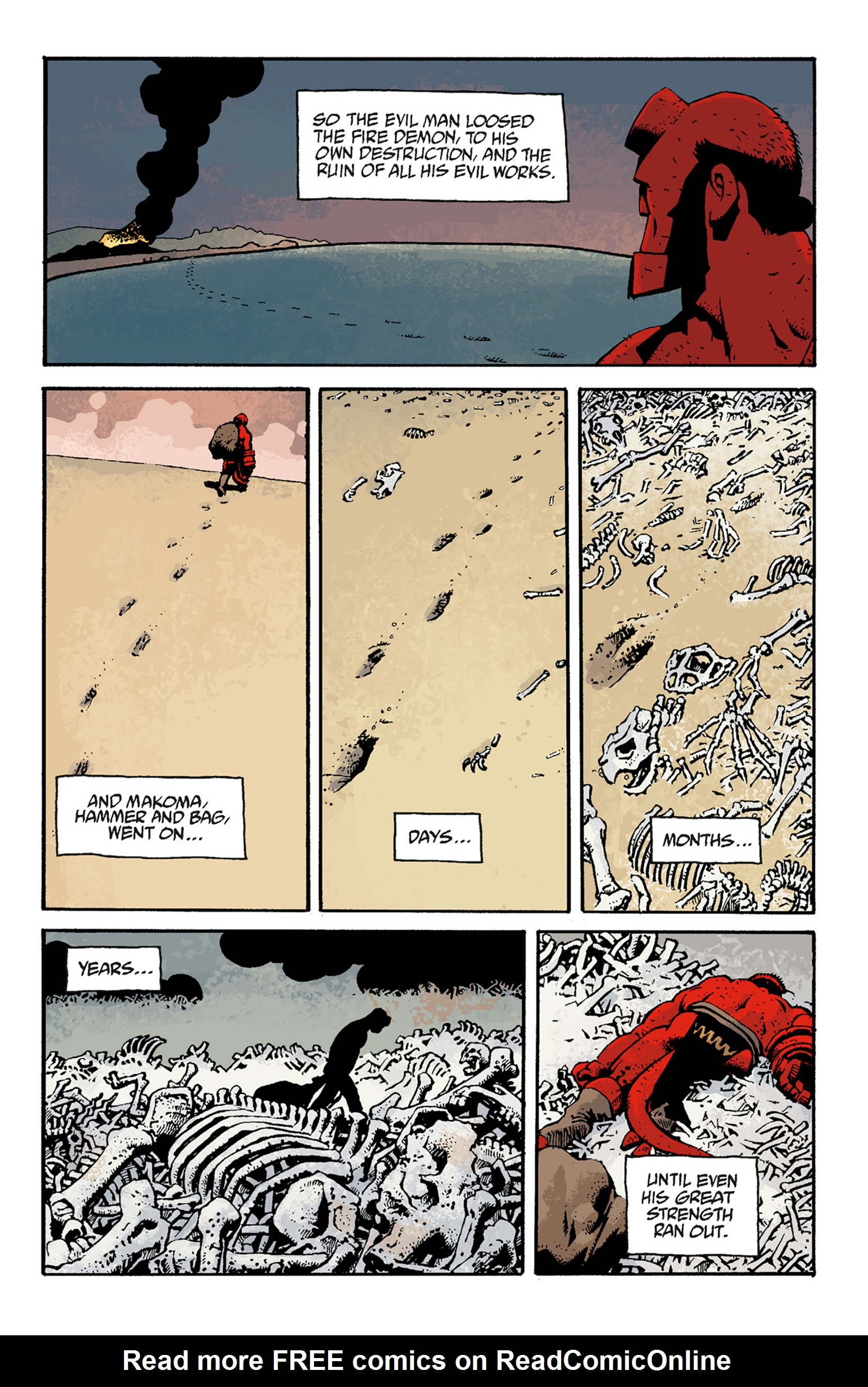 Read online Hellboy: The Troll Witch and Others comic -  Issue # TPB - 115