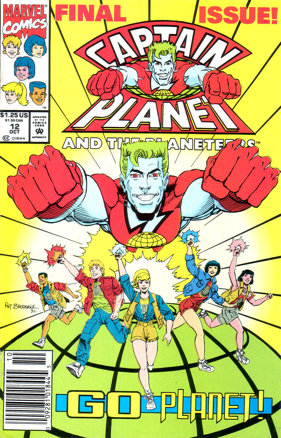 Captain Planet and the Planeteers 12 Page 1