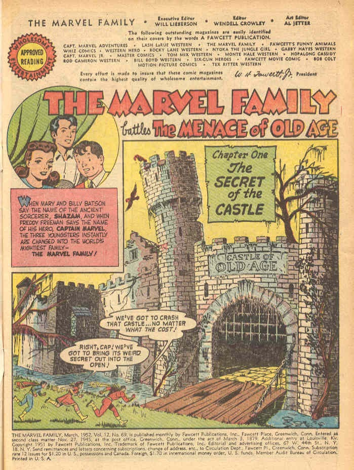 The Marvel Family issue 69 - Page 3