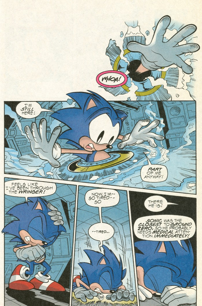 Read online Sonic Super Special comic -  Issue #6 - The big 50 - 36