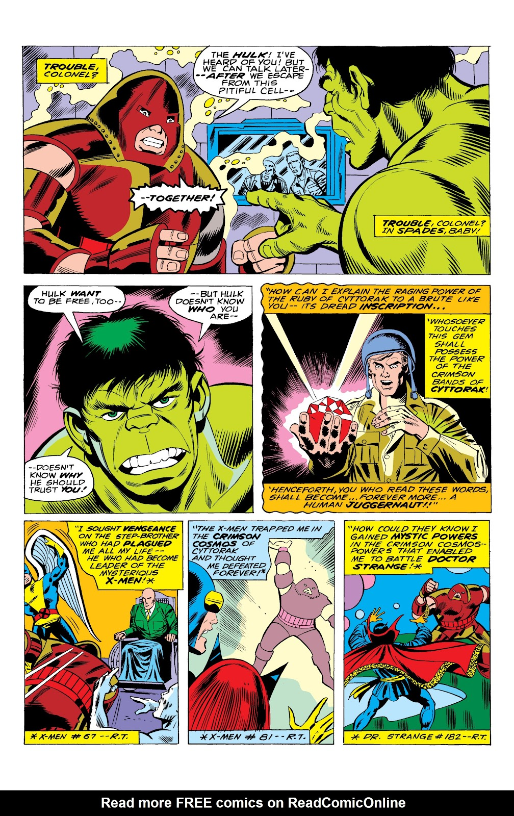 Read online Marvel Masterworks: The Incredible Hulk comic -  Issue # TPB 10 (Part 1) - 37
