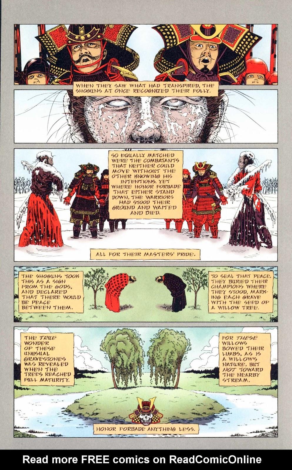 Read online Weird War Tales (1997) comic -  Issue #1 - 19