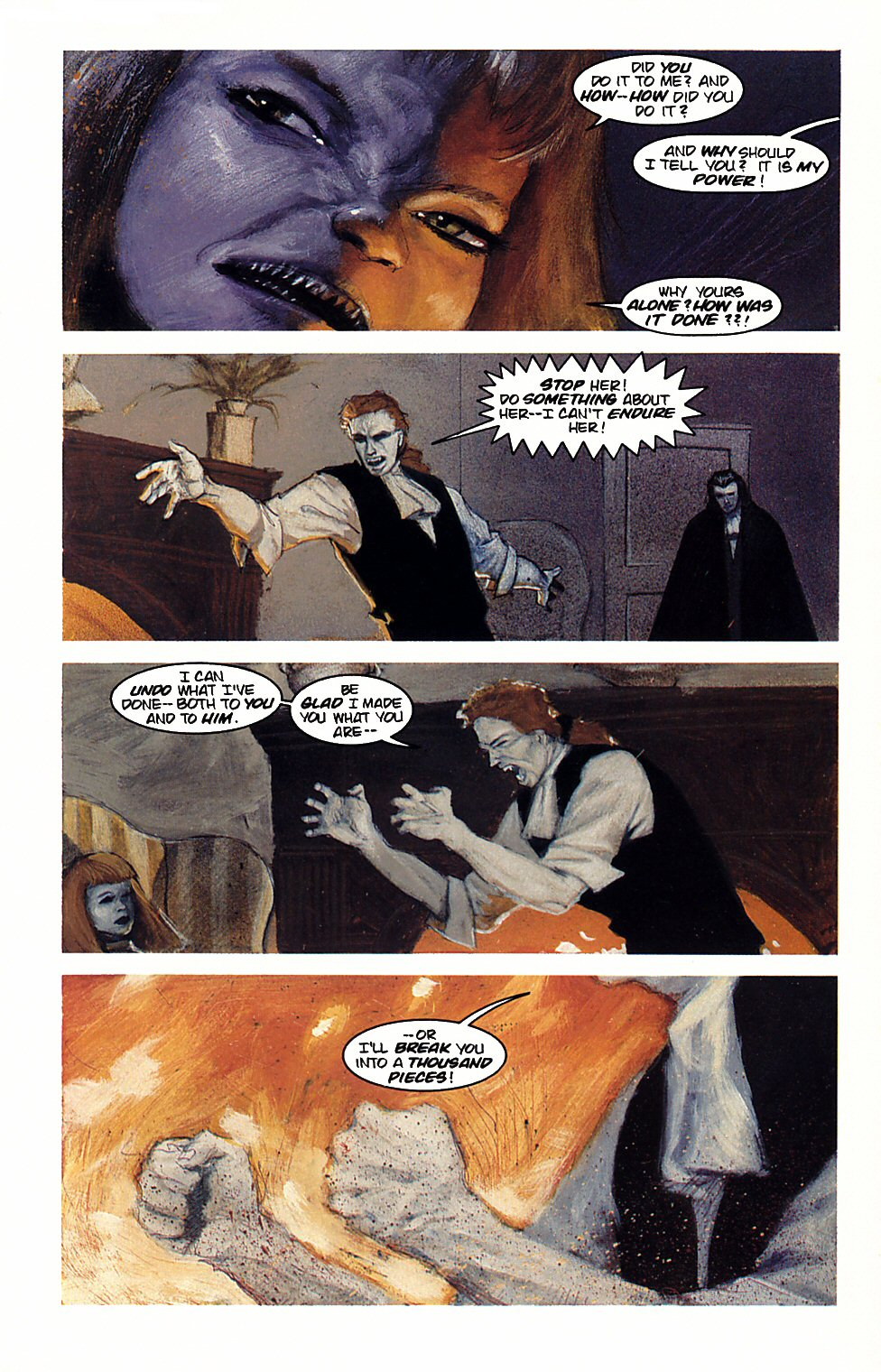 Read online Anne Rice's Interview with the Vampire comic -  Issue #4 - 21