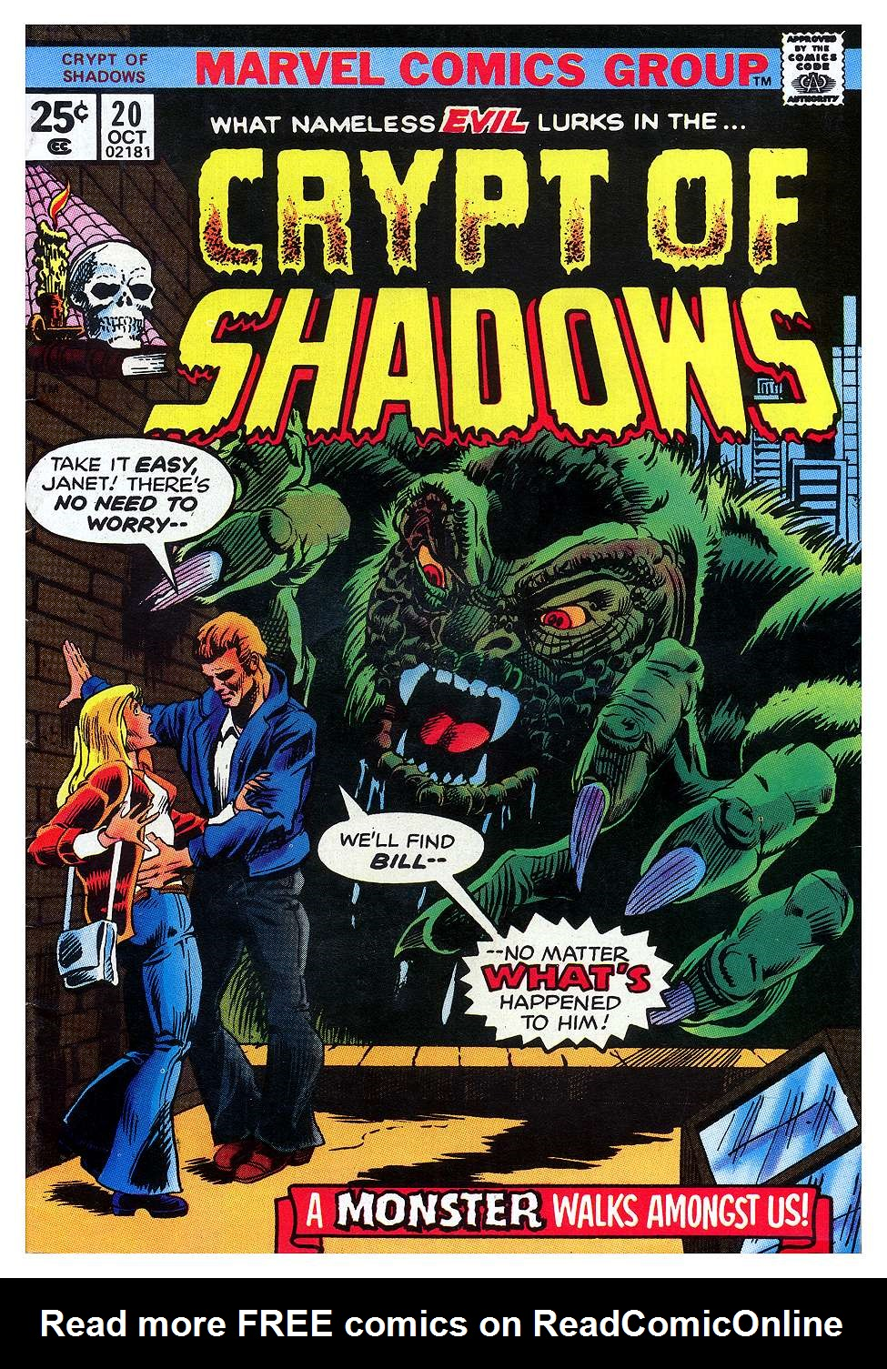 Crypt of Shadows (1973) 20 Page 1