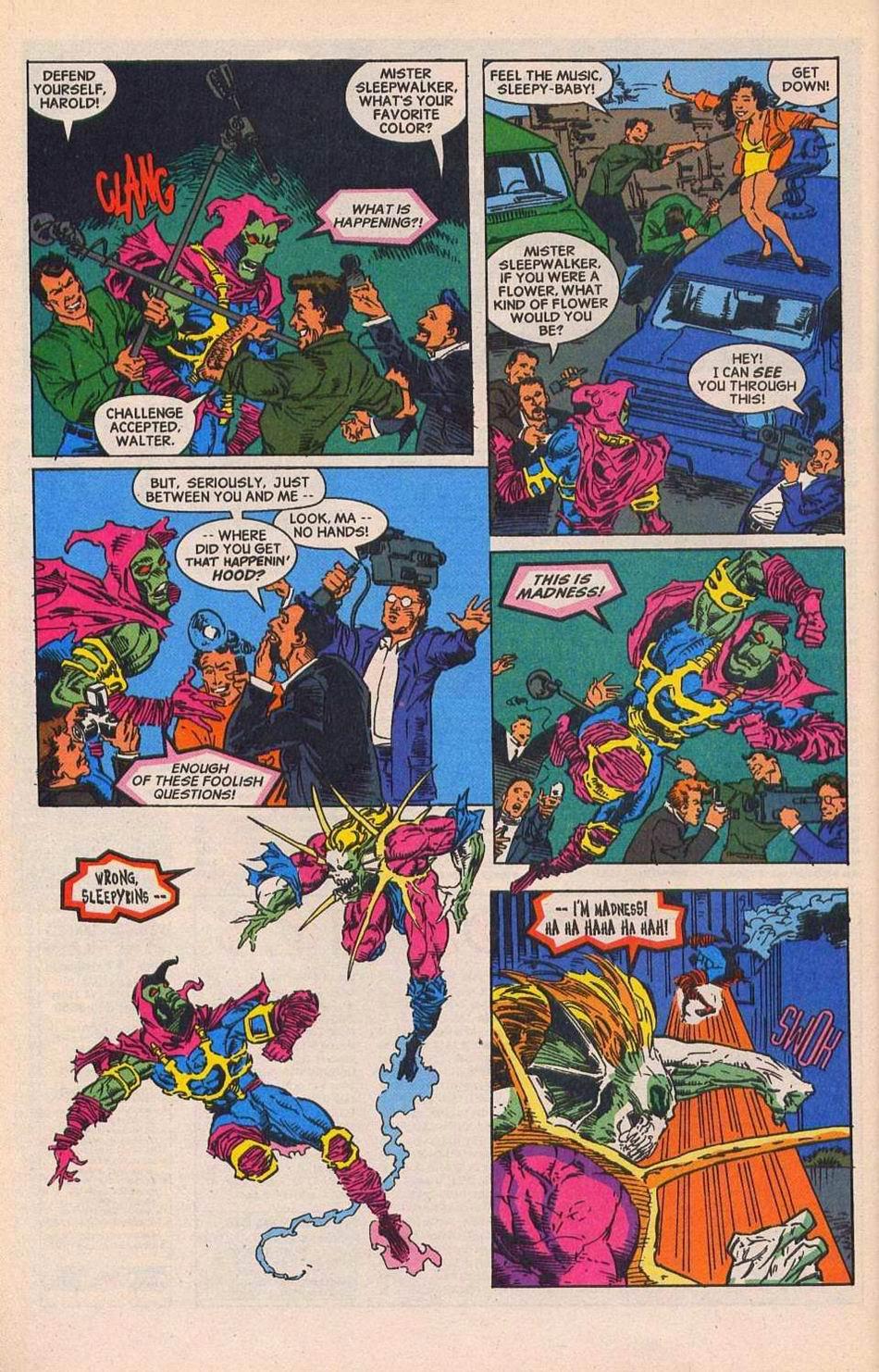 Read online Sleepwalker comic -  Issue #28 - 21