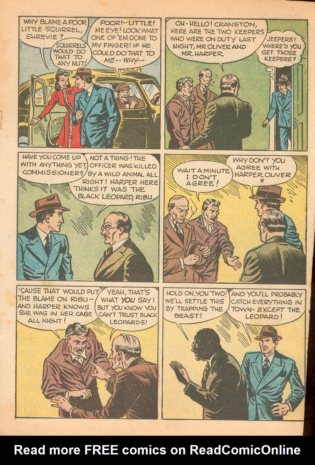 Read online Shadow Comics comic -  Issue #11 - 5