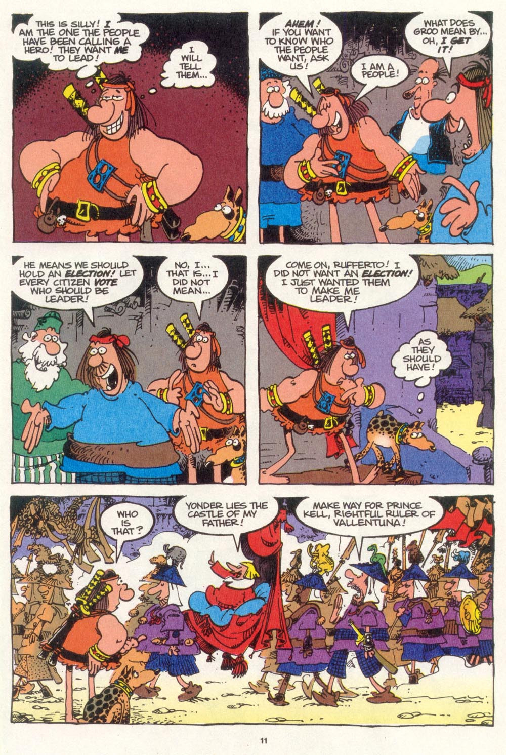 Read online Sergio Aragonés Groo the Wanderer comic -  Issue #108 - 13