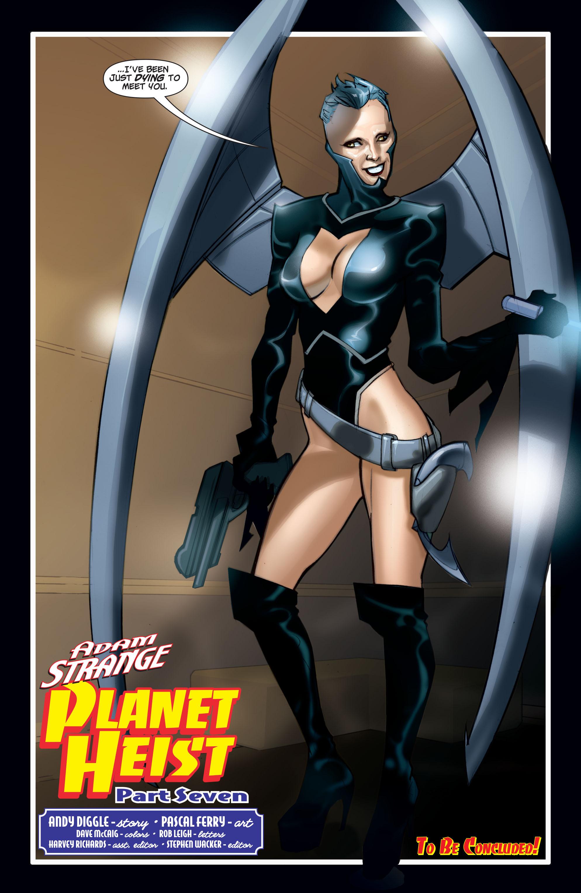 Read online Adam Strange (2004) comic -  Issue #7 - 22