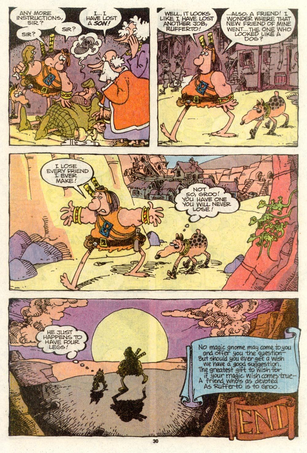 Read online Sergio Aragonés Groo the Wanderer comic -  Issue #77 - 24