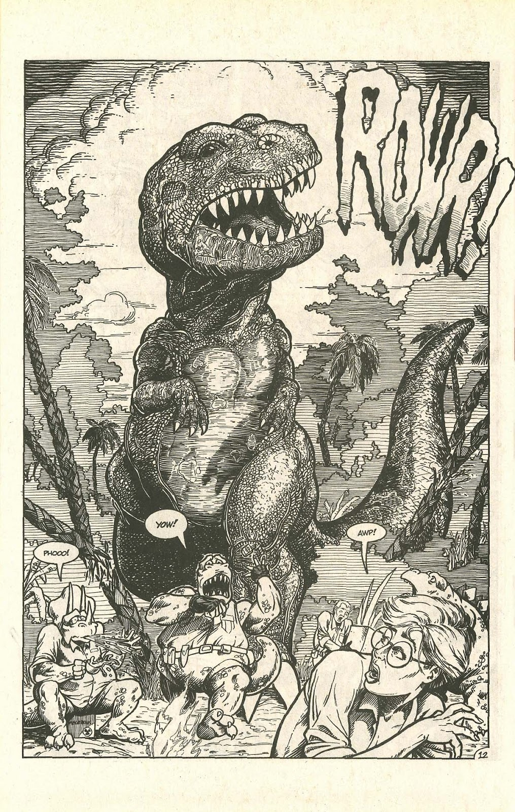Dinosaurs For Hire (1988) issue 9 - Page 16