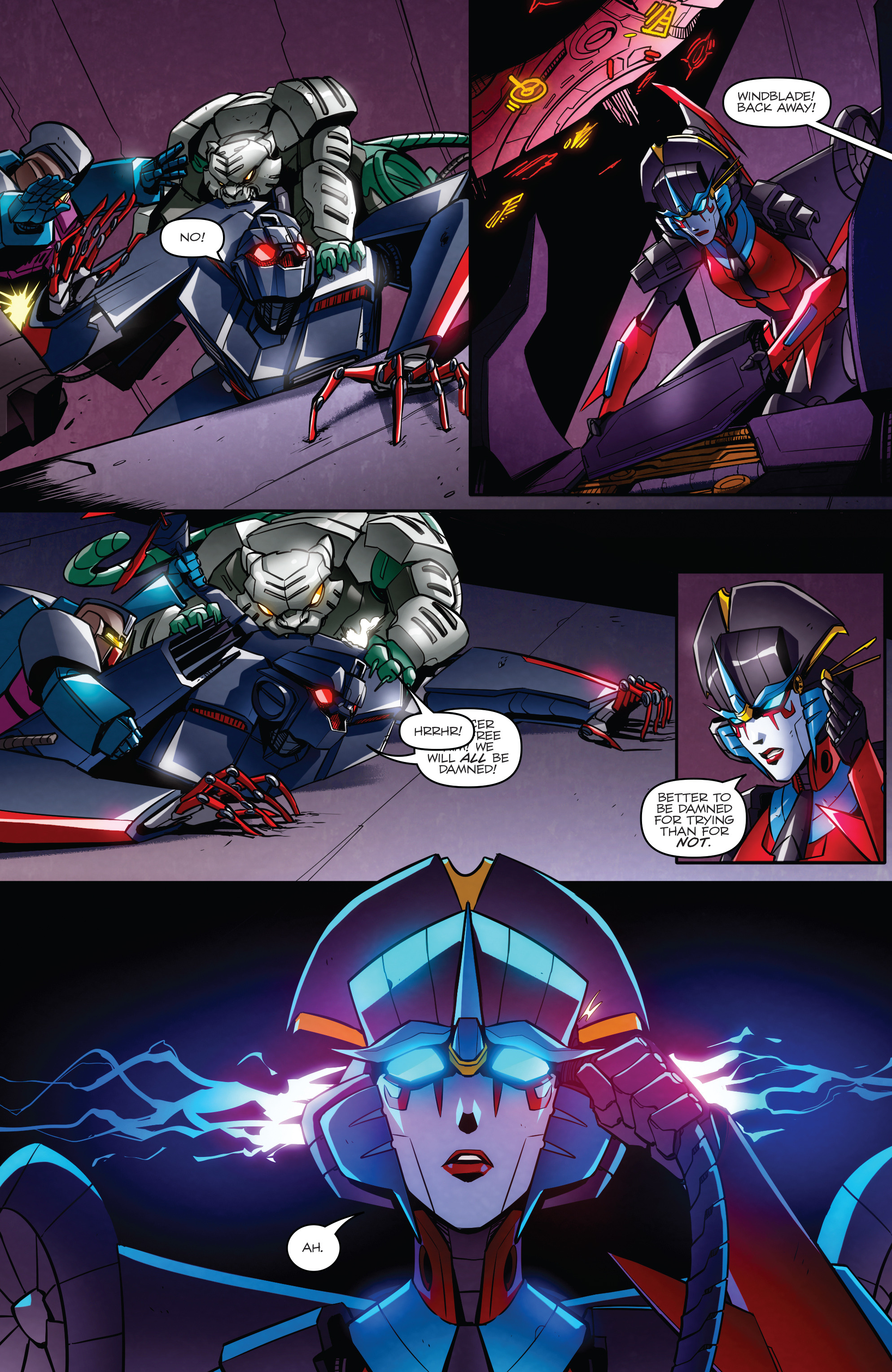 Read online Transformers: Till All Are One comic -  Issue #7 - 23