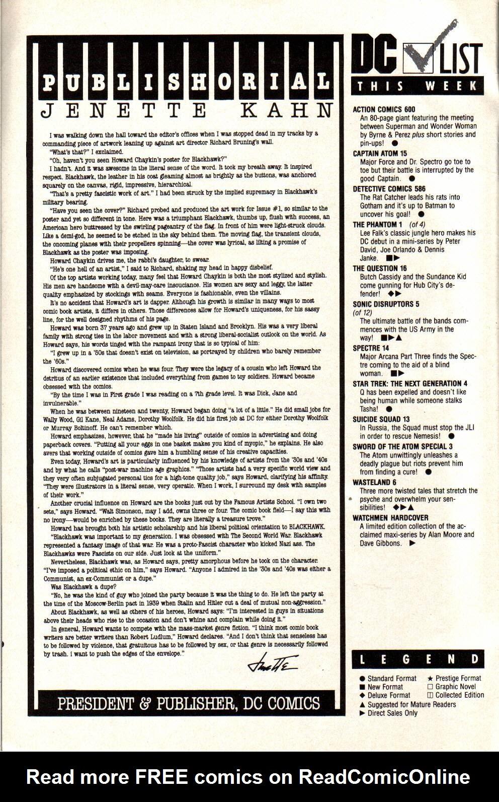 Read online The Phantom (1988) comic -  Issue #1 - 2