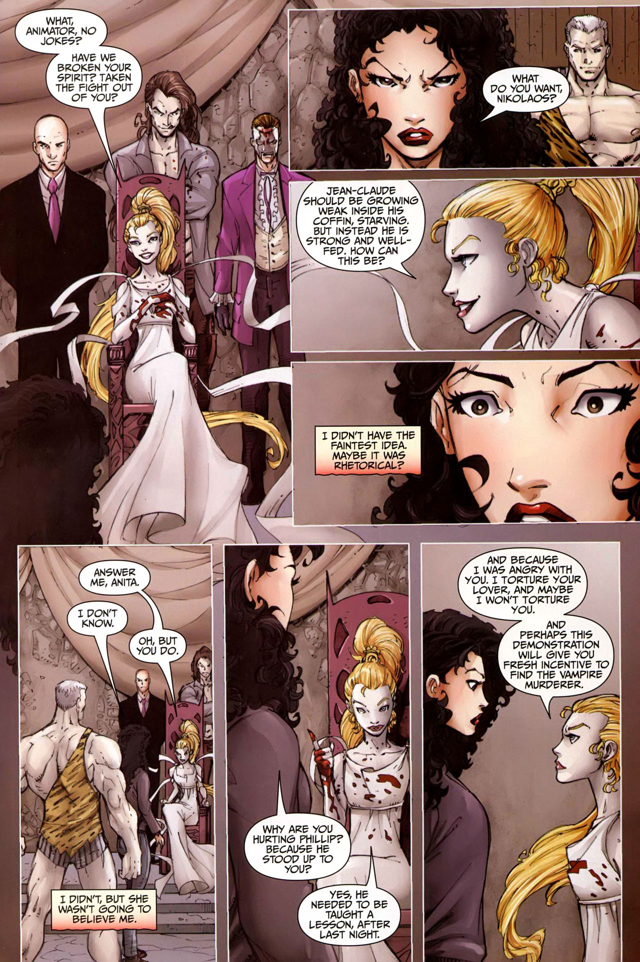 Read online Anita Blake, Vampire Hunter: Guilty Pleasures comic -  Issue #9 - 20