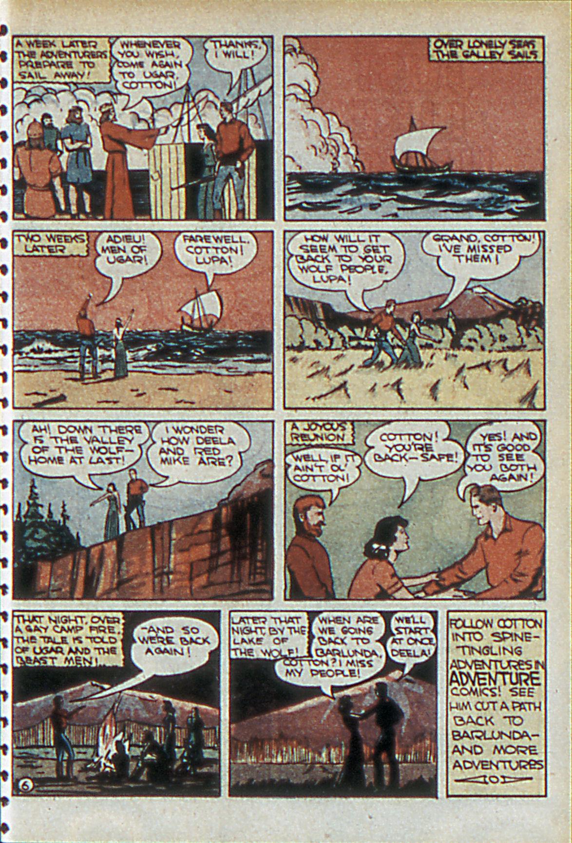 Read online Adventure Comics (1938) comic -  Issue #55 - 38