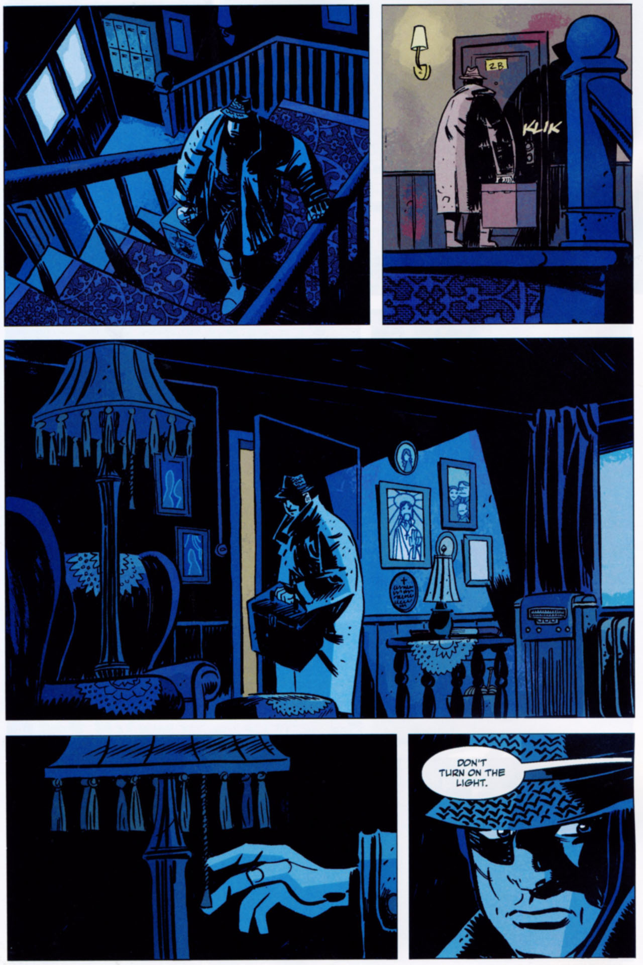 Read online Lobster Johnson: The Iron Prometheus comic -  Issue #1 - 4