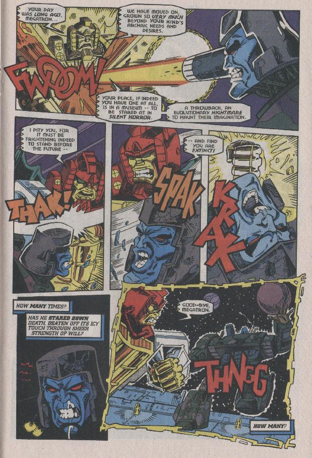 Read online Transformers: Generation 2 comic -  Issue #7 - 16