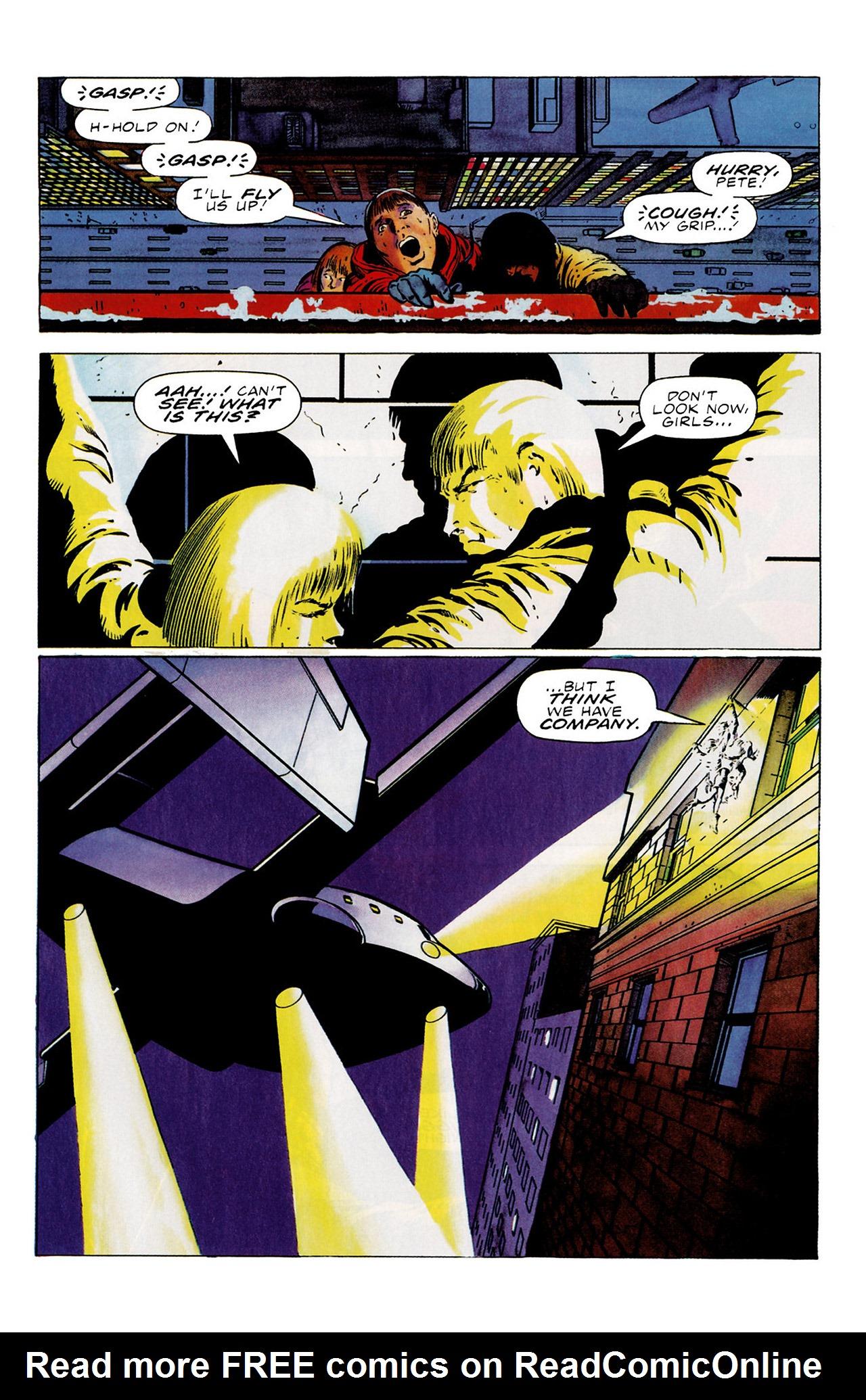 Read online Harbinger (1992) comic -  Issue #16 - 11