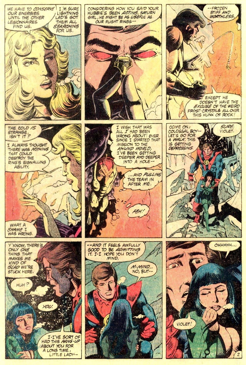 Legion of Super-Heroes (1980) 289 Page 2