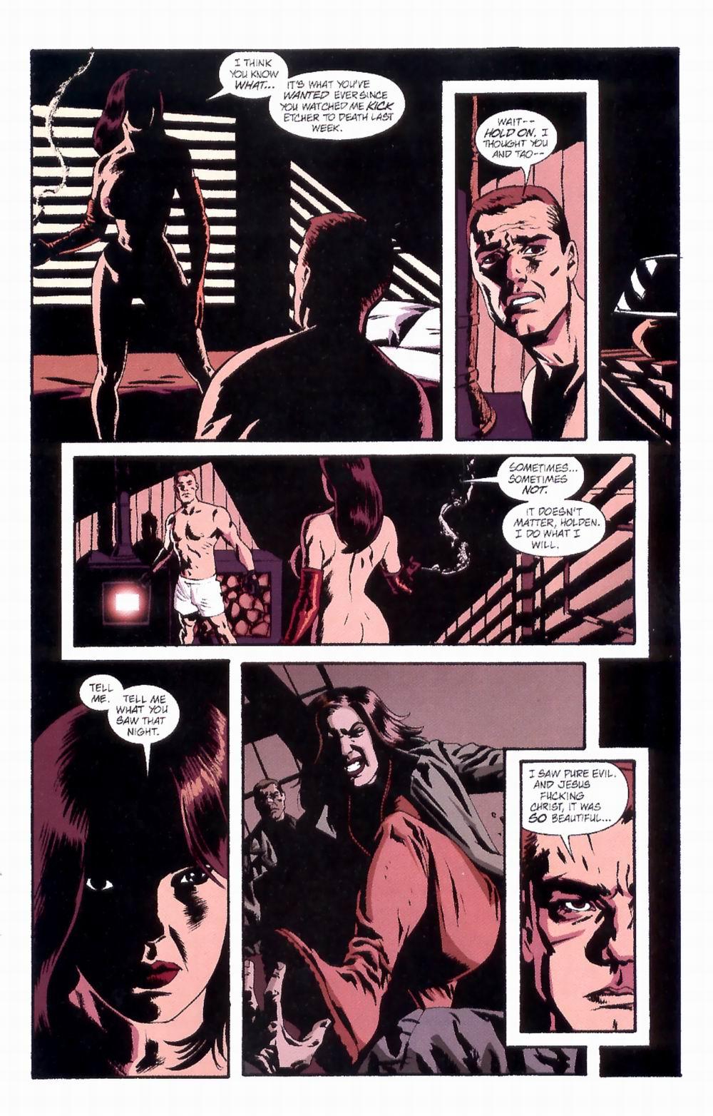 Read online Sleeper comic -  Issue #4 - 19