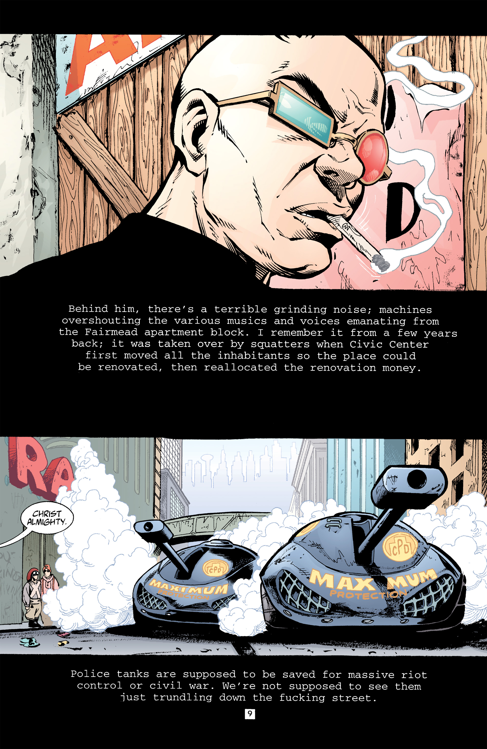 Read online Transmetropolitan comic -  Issue #32 - 10