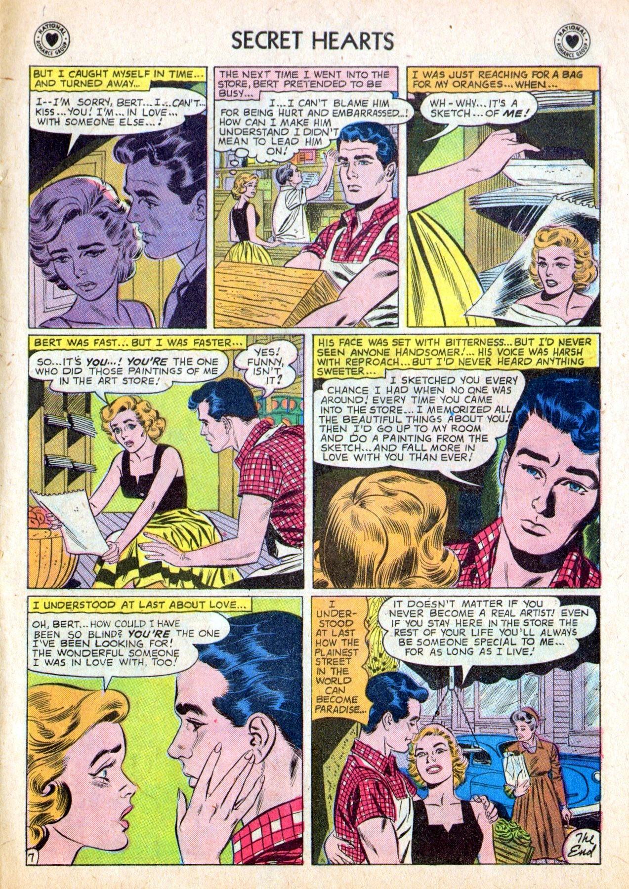 Read online Secret Hearts comic -  Issue #53 - 9